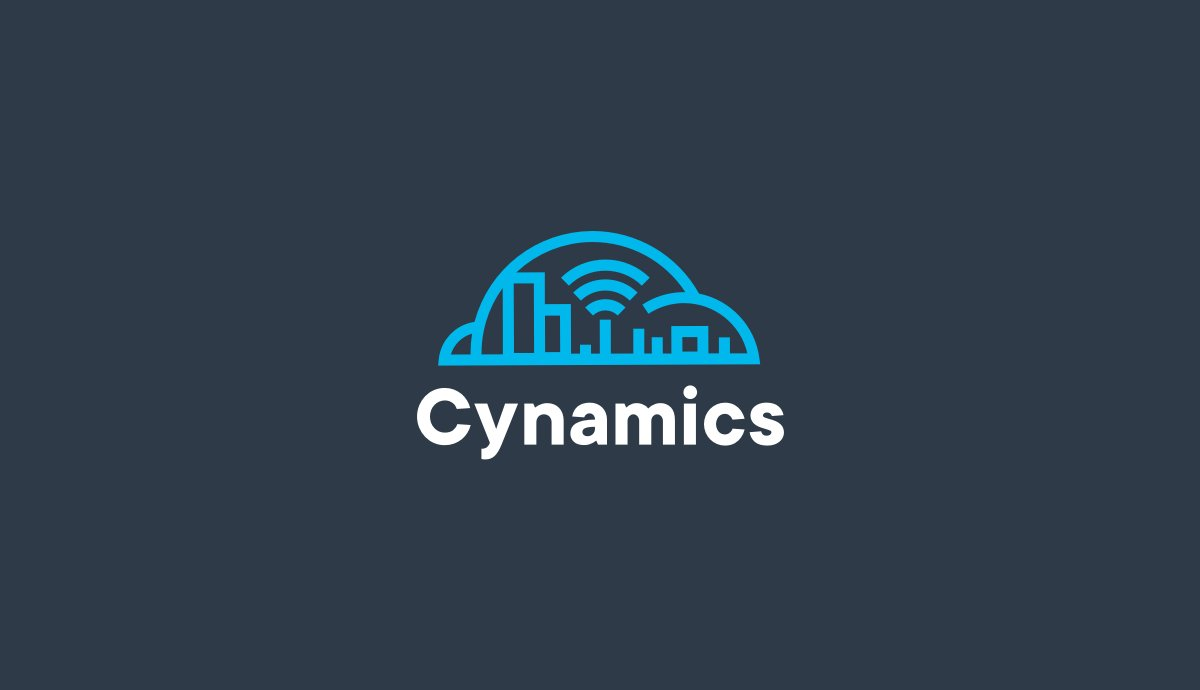 Cynamics branding by hello.