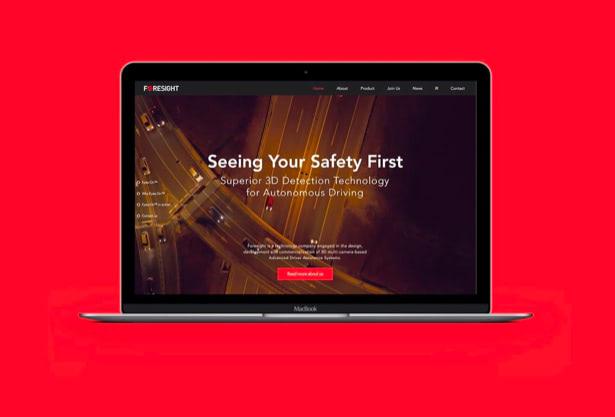Foresight website design- UX-UI and branding
