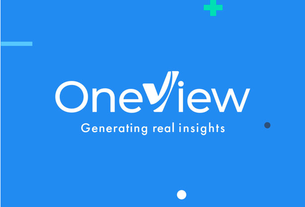 OneView branding and website UX/UI design by hello.