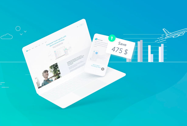 Smart agent branding and UX/UI