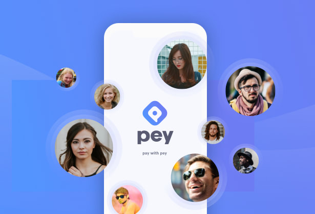 Pey app UX and UI design