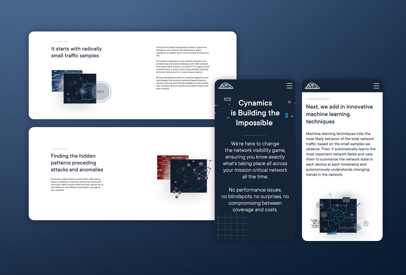 Hello design- Cynamics website UX UI design 7