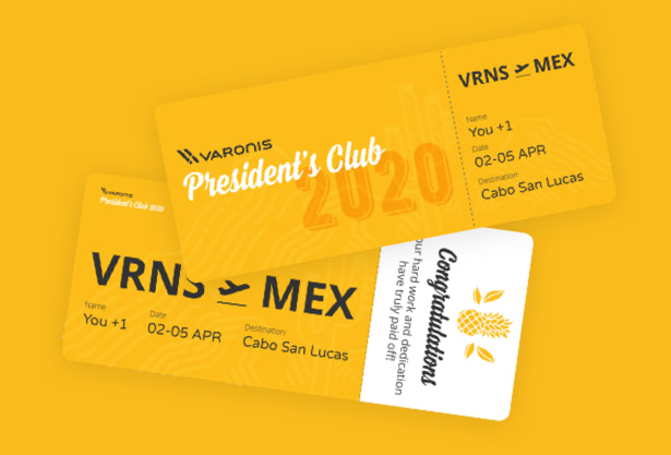 Branding- Hello-design-Varonis-president-club-2020-design