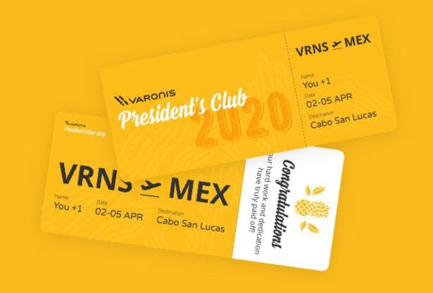 Branding- Hello-design-Varonis-president-club-2020-design
