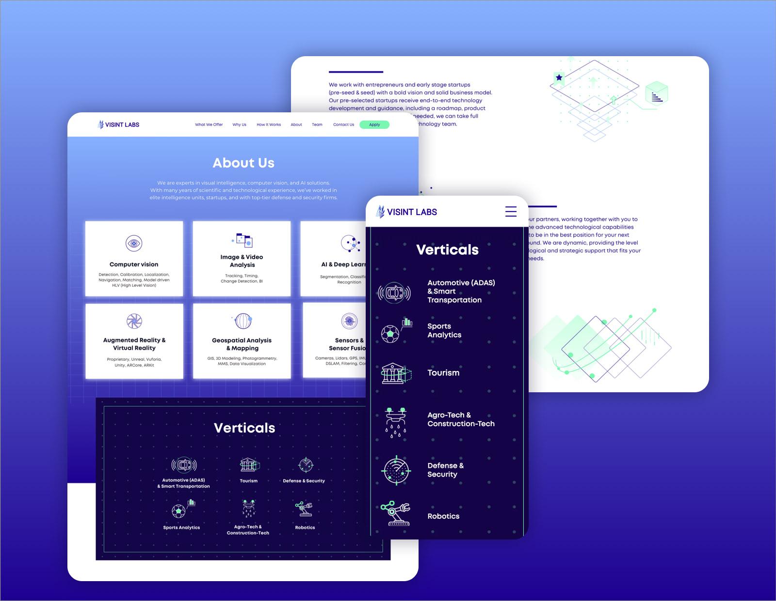 Hello-design-Visint-labs-website-UX-UI