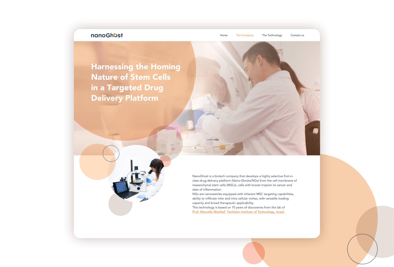 Hello-design-Nano-Ghost-Branding-and-website-UX-UI-design-poster